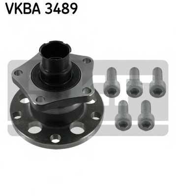 Комплект подшипника ступицы колеса SKF VKBA 3489 - изображение