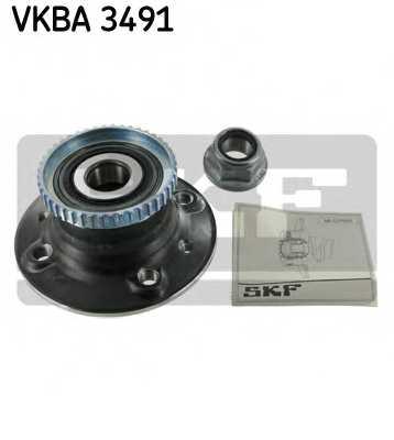 Комплект подшипника ступицы колеса SKF VKBA 3491 - изображение