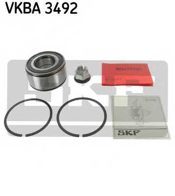 Комплект подшипника ступицы колеса SKF VKBA 3492 - изображение