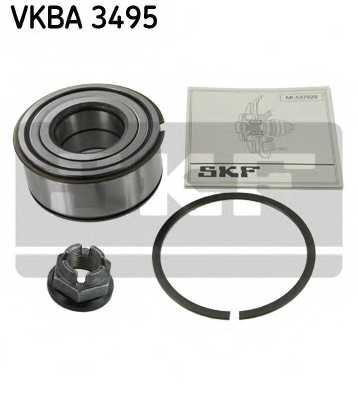 Комплект подшипника ступицы колеса SKF VKBA 3495 - изображение
