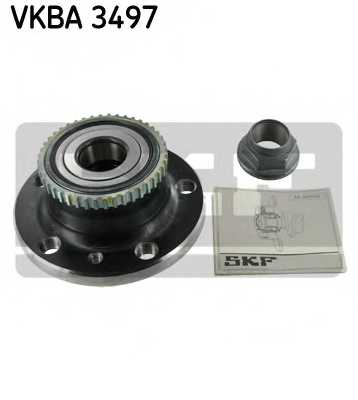 Комплект подшипника ступицы колеса SKF VKBA 3497 - изображение