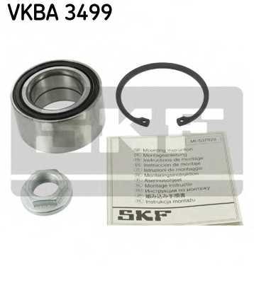 Комплект подшипника ступицы колеса SKF VKBA 3499 - изображение