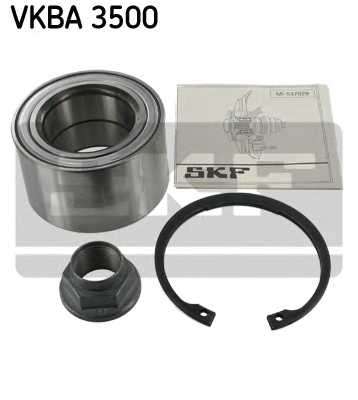 Комплект подшипника ступицы колеса SKF VKBA 3500 - изображение