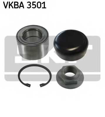 Комплект подшипника ступицы колеса SKF VKBA 3501 - изображение