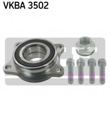 Комплект подшипника ступицы колеса SKF VKBA 3502 - изображение