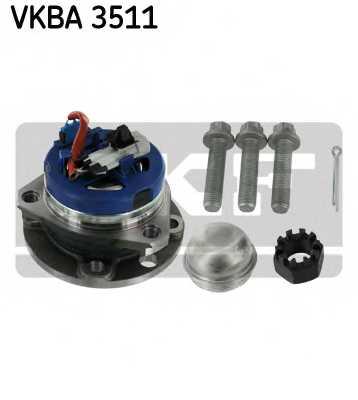 Комплект подшипника ступицы колеса SKF VKBA 3511 - изображение