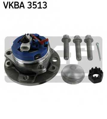 Комплект подшипника ступицы колеса SKF VKBA 3513 - изображение