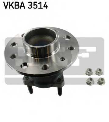Комплект подшипника ступицы колеса SKF VKBA 3514 - изображение