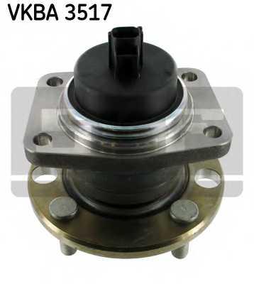 Комплект подшипника ступицы колеса SKF VKBA 3517 - изображение