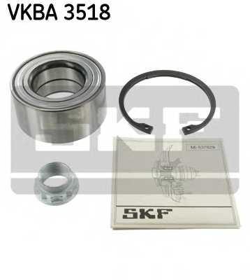 Комплект подшипника ступицы колеса SKF VKBA 3518 - изображение