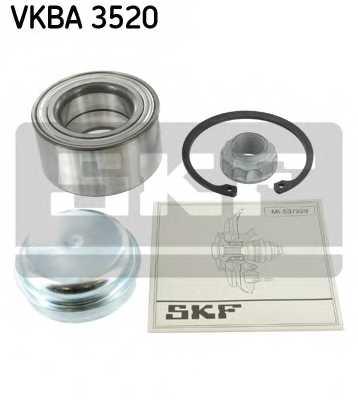 Комплект подшипника ступицы колеса SKF VKBA 3520 - изображение