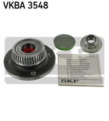 Комплект подшипника ступицы колеса SKF VKBA 3548 - изображение