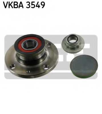 Комплект подшипника ступицы колеса SKF VKBA 3549 - изображение