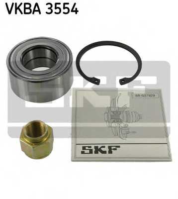 Комплект подшипника ступицы колеса SKF VKBA 3554 - изображение