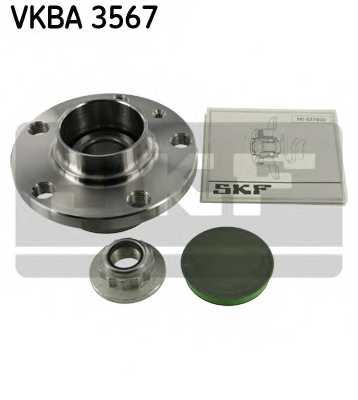 Комплект подшипника ступицы колеса SKF VKBA 3567 - изображение