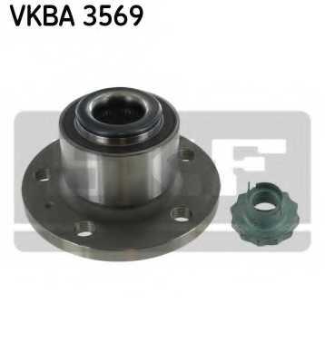 Комплект подшипника ступицы колеса SKF VKBA 3569 - изображение