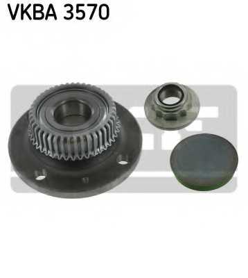 Комплект подшипника ступицы колеса SKF VKBA 3570 - изображение
