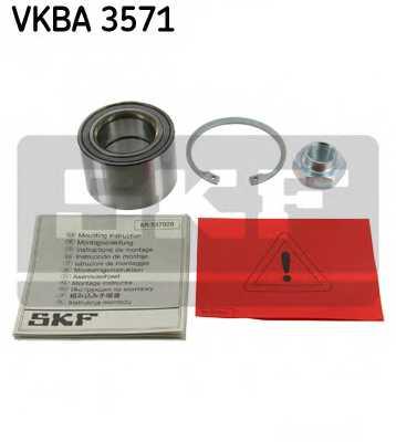 Комплект подшипника ступицы колеса SKF VKBA 3571 - изображение