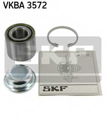 Комплект подшипника ступицы колеса SKF VKBA3572 - изображение