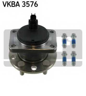 Комплект подшипника ступицы колеса SKF VKBA 3576 - изображение