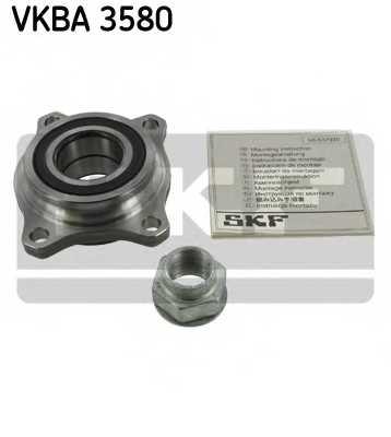 Комплект подшипника ступицы колеса SKF VKBA 3580 - изображение