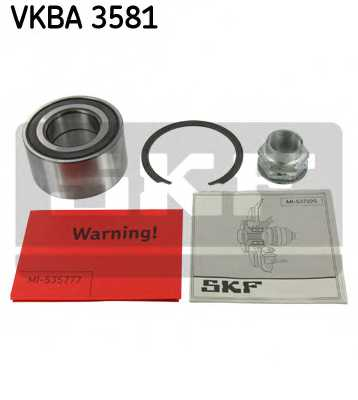 Комплект подшипника ступицы колеса SKF VKBA 3581 - изображение