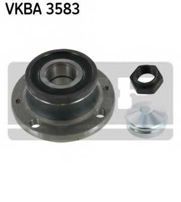 Комплект подшипника ступицы колеса SKF VKBA 3583 - изображение