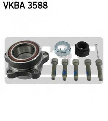 Комплект подшипника ступицы колеса SKF VKBA 3588 - изображение
