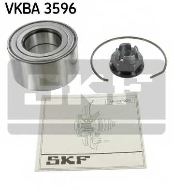 Комплект подшипника ступицы колеса SKF VKBA 3596 - изображение