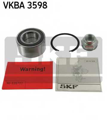 Комплект подшипника ступицы колеса SKF VKBA 3598 - изображение