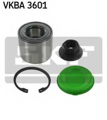 Комплект подшипника ступицы колеса SKF VKBA 3601 - изображение