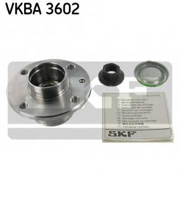 Комплект подшипника ступицы колеса SKF VKBA 3602 - изображение