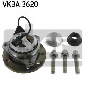 Комплект подшипника ступицы колеса SKF VKBA 3620 - изображение