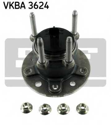 Комплект подшипника ступицы колеса SKF VKBA3624 - изображение