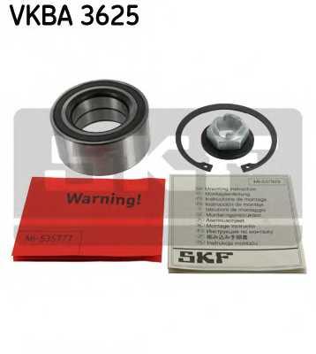 Комплект подшипника ступицы колеса SKF VKBA 3625 - изображение