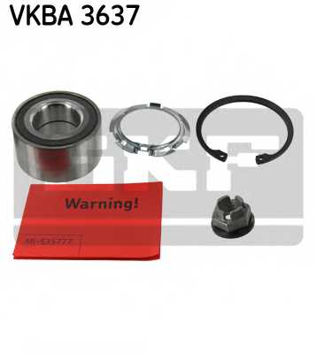 Комплект подшипника ступицы колеса SKF VKBA 3637 - изображение