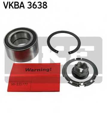 Комплект подшипника ступицы колеса SKF VKBA 3638 - изображение