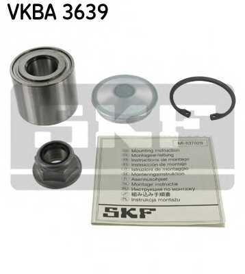 Комплект подшипника ступицы колеса SKF VKBA3639 - изображение