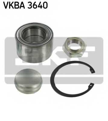 Комплект подшипника ступицы колеса SKF VKBA 3640 - изображение