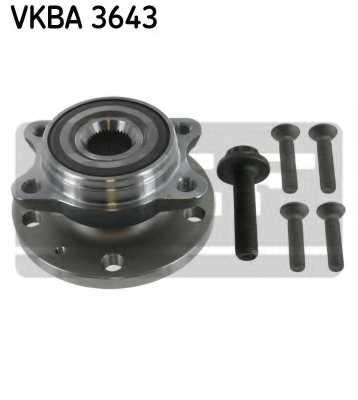 Комплект подшипника ступицы колеса SKF VKBA 3643 - изображение