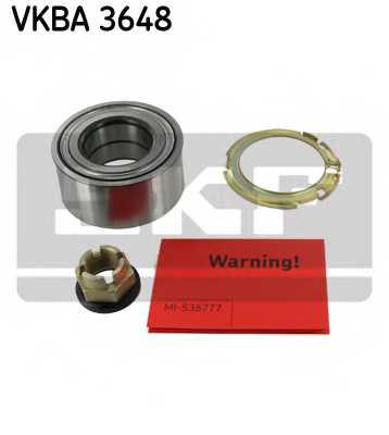 Комплект подшипника ступицы колеса SKF VKBA 3648 - изображение