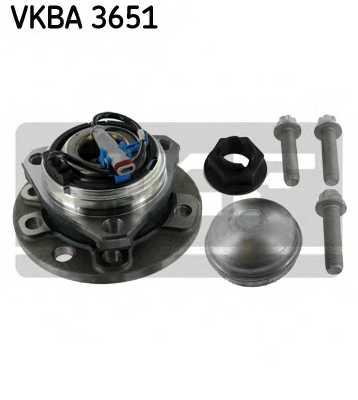 Комплект подшипника ступицы колеса SKF VKBA 3651 - изображение