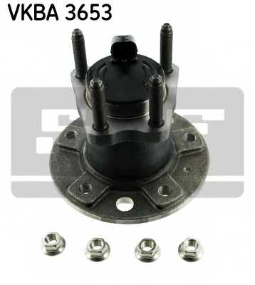 Комплект подшипника ступицы колеса SKF VKBA 3653 - изображение