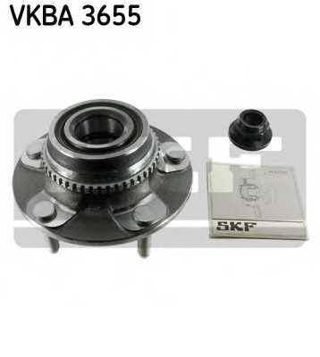Комплект подшипника ступицы колеса SKF VKBA3655 - изображение