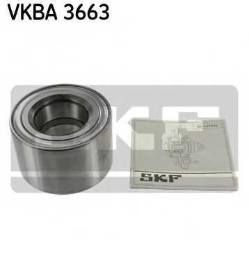 Комплект подшипника ступицы колеса SKF VKBA 3663 - изображение
