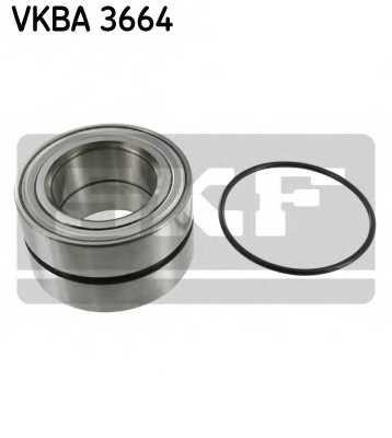 Комплект подшипника ступицы колеса SKF VKBA 3664 - изображение