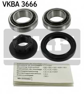 Комплект подшипника ступицы колеса SKF VKBA 3666 - изображение