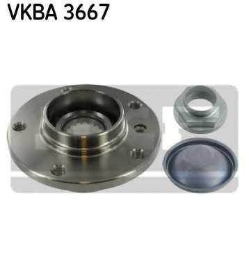 Комплект подшипника ступицы колеса SKF VKBA 3667 - изображение