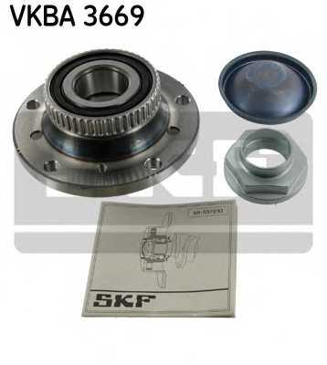 Комплект подшипника ступицы колеса SKF VKBA 3669 - изображение