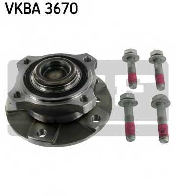 Комплект подшипника ступицы колеса SKF VKBA 3670 - изображение